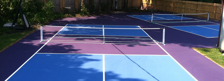Personal Pickleball Court Western NY