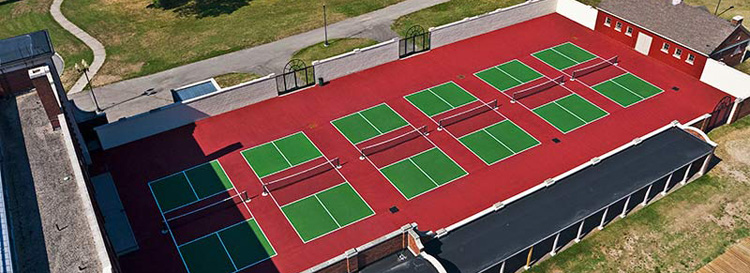Pickleball Court Resurfacing Rochester NY