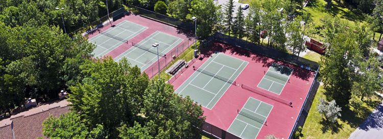 Tennis Court Installation Rochester NY