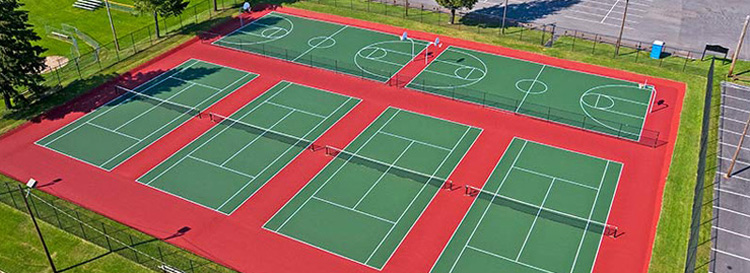 Tennis Court Resurfacing Western NY