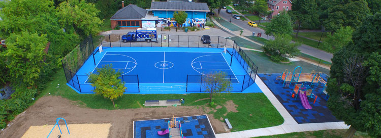 Super Seal Basketball Court